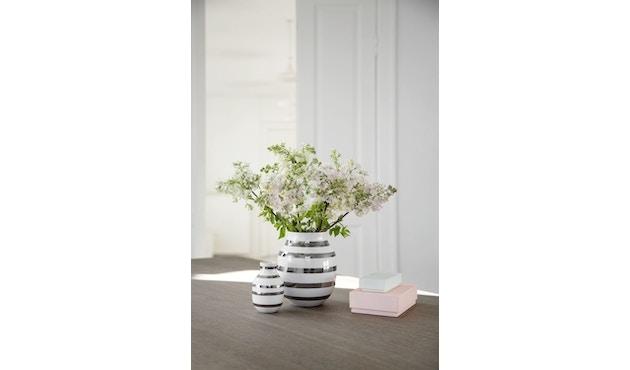 Kähler Design - Omaggio Keramiek Vaas - granietgrijs - H 12,5 cm - 7