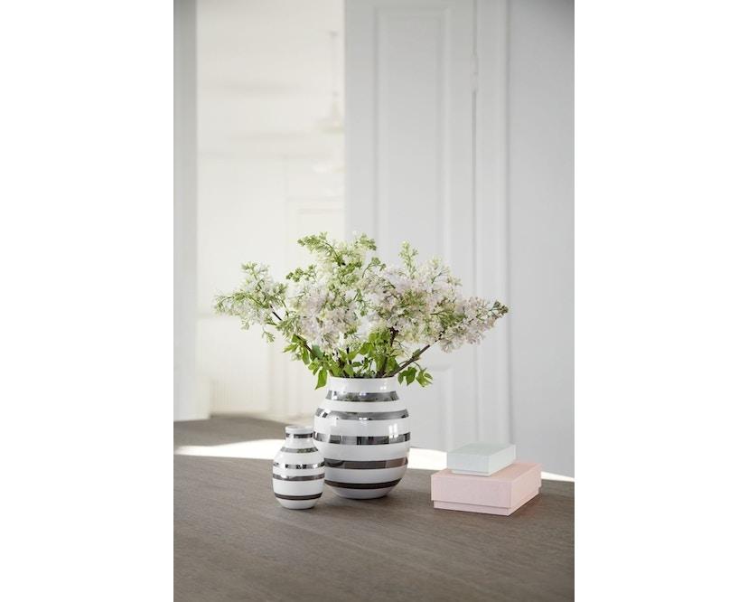 Kähler Design - Omaggio Keramikvase - H125 - granitgrau - 7
