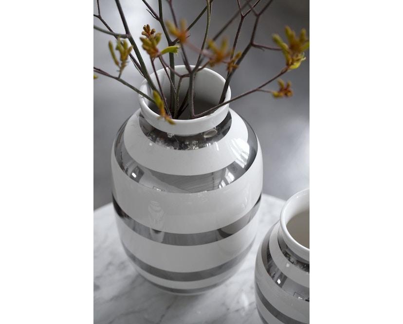 Kähler Design - Omaggio Keramikvase - H125 - granitgrau - 5