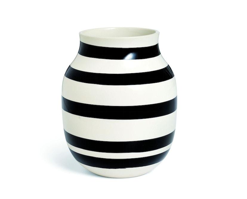 Kähler Design - Omaggio Keramikvase - H200 - schwarz - 2