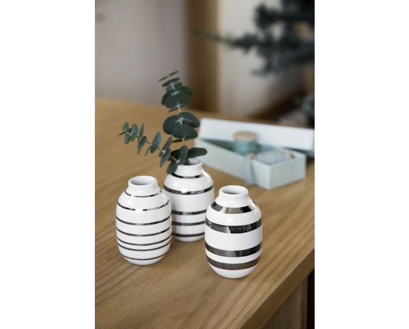 Kähler Design - Omaggio Vaas-Miniatuur Set van 3 - 7