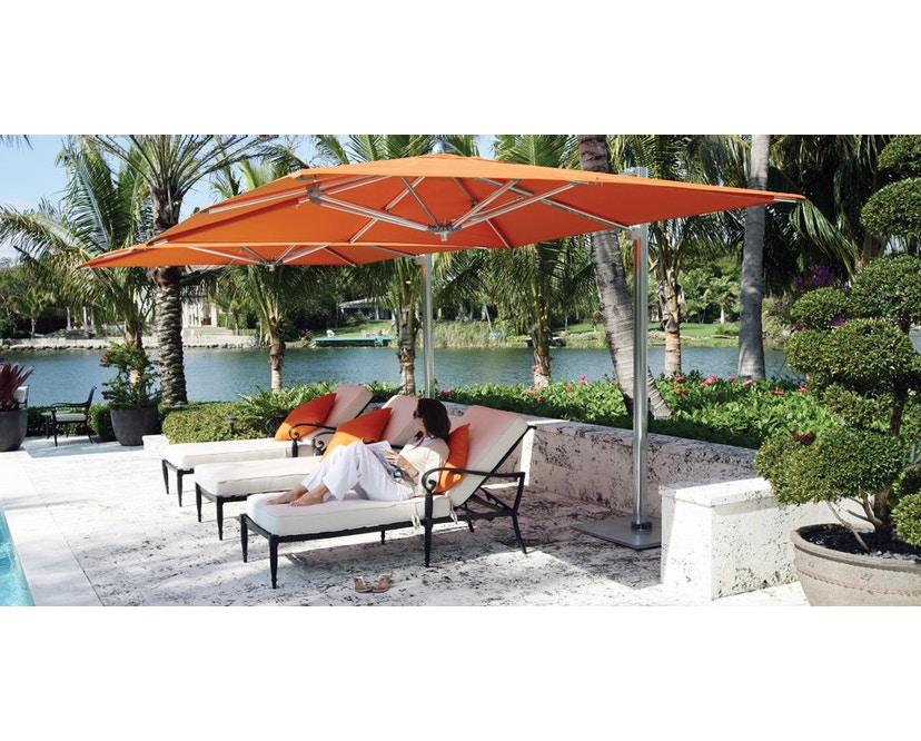 Tuuci - Ocean master MAX single cantilever parasol - 3,0 m - natuurwit - 2