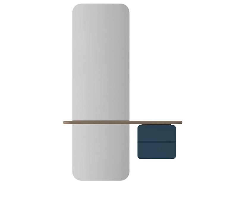 UMAGE - One More Look spiegel - Eiken - petrolblauw - 2