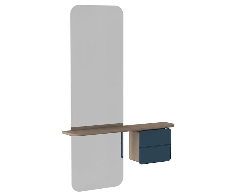 UMAGE - One More Look spiegel - Eiken - petrolblauw - 3