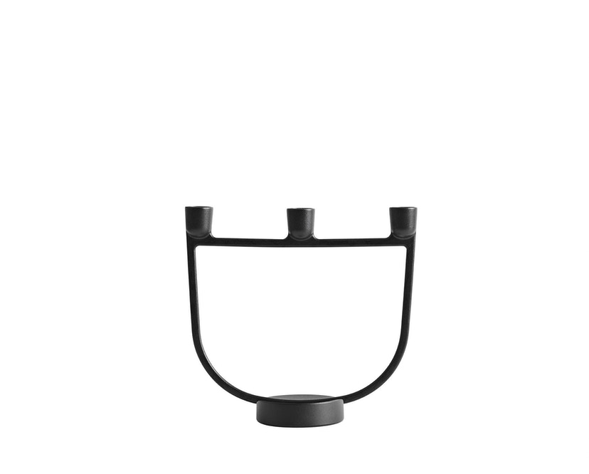 Muuto - Open Kerzenleuchter - schwarz - 1