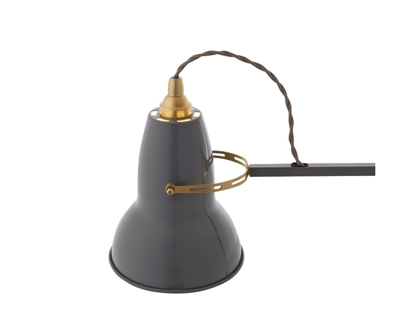 Anglepoise - Original 1227™ Brass bureaulamp - met tafelvoet - Ked - olifantengrijs - 3
