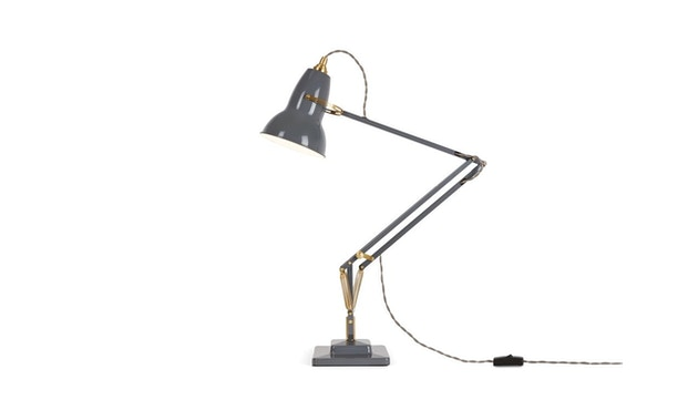 Anglepoise - Original 1227™ Brass Schreibtischleuchte -  elefantengrau - LED - 8