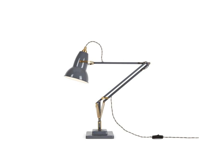 Anglepoise - Original 1227™ Brass bureaulamp - met tafelvoet - Ked - olifantengrijs - 9