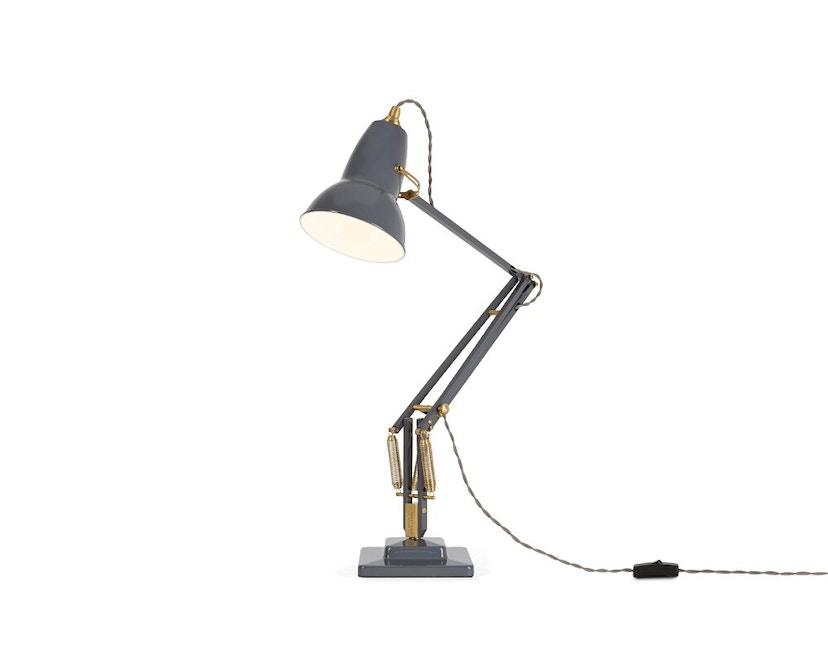 Anglepoise - Original 1227™ Brass bureaulamp - met tafelvoet - Ked - olifantengrijs - 1