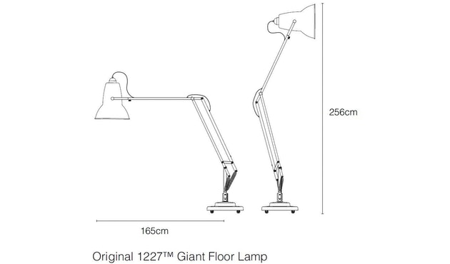 Anglepoise - Original 1227™ Giant Bodenleuchte Outdoor - 4