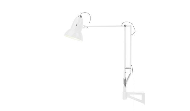 Anglepoise - Original 1227™ Giant Leuchte mit Wandbefestigung, Outdoor -  hochglänzend alpinweiß - 6