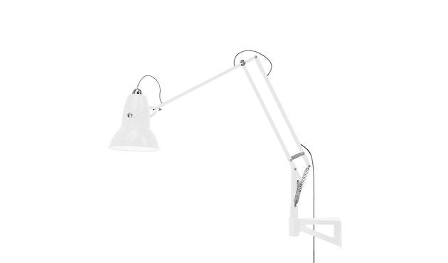 Anglepoise - Original 1227™ Giant Leuchte mit Wandbefestigung, Outdoor -  hochglänzend alpinweiß - 7