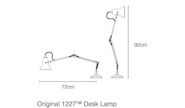 Anglepoise - Original 1227™ Brass bureaulamp - 4
