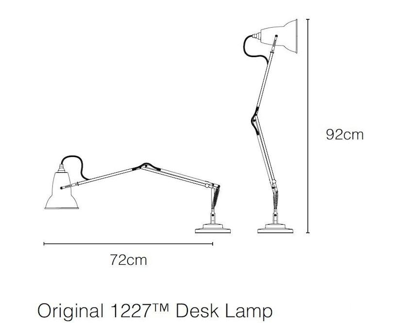 Anglepoise - Original 1227™ Brass Schreibtischleuchte - 4