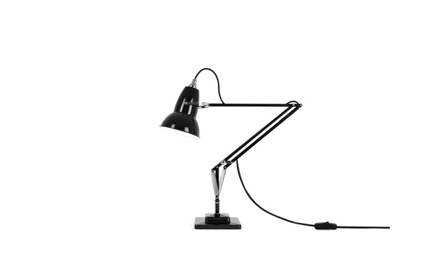 Anglepoise - Original 1227™ Brass bureaulamp - met tafelvoet - jet zwart - Ked - 1