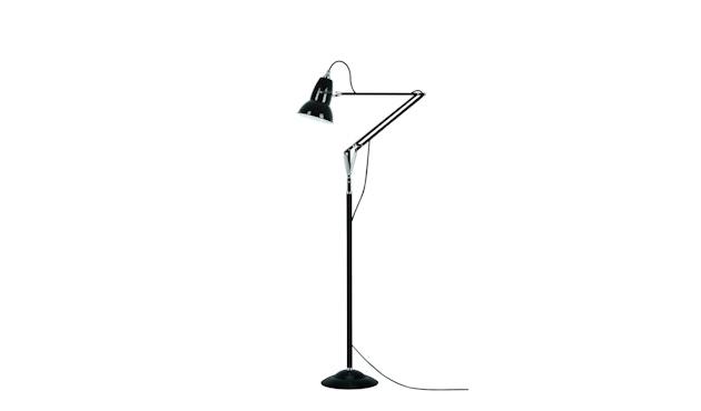 Anglepoise - Original 1227™ Brass staande lamp - jet zwart - Ked - 1