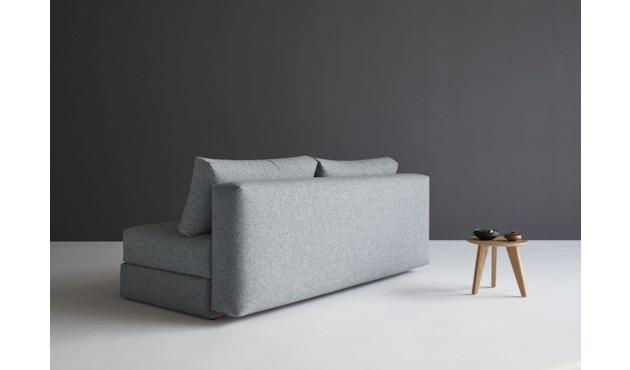 Innovation - Osvald Klappsofa inkl. 1x Kopfstütze Flip + 1x Topper - granite - 11