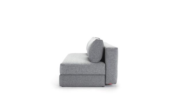 Innovation - Osvald Klappsofa inkl. 1x Kopfstütze Flip + 1x Topper - granite - 3