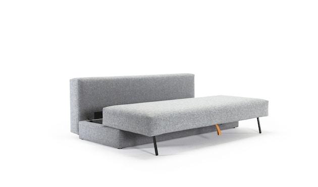 Innovation - Osvald Klappsofa inkl. 1x Kopfstütze Flip + 1x Topper - granite - 5