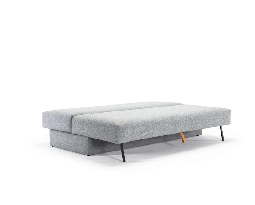 Innovation - Osvald Klappsofa inkl. 1x Kopfstütze Flip + 1x Topper - granite - 6