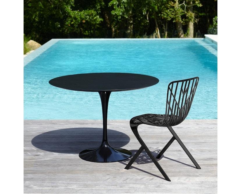 Knoll International - Table de salle à manger d'extérieur Saarinen - Rond - 3