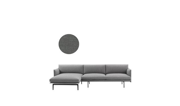 Muuto - Outline Sofa / Chaise Longue - Chaise Longue links - Remix 163 - 1