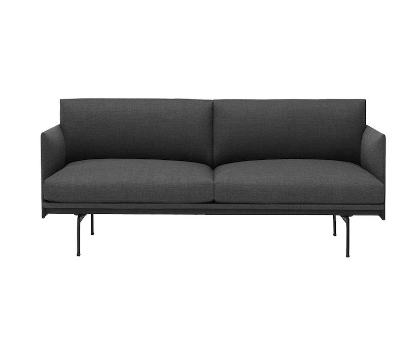 Muuto - Outline Sofa - 2 Sitzer - Remix 163 - 4