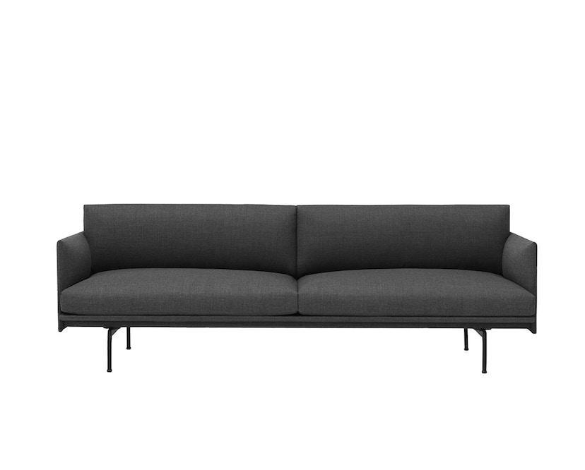Muuto - Outline Sofa - 3 Sitzer - Remix 163 - 2