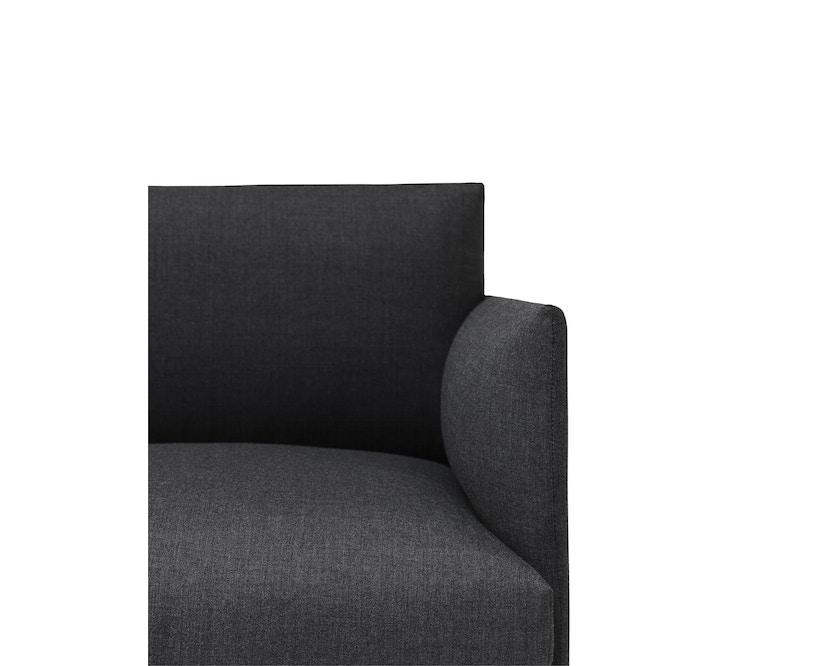 Muuto - Outline Sofa - 3 Sitzer - Remix 163 - 3