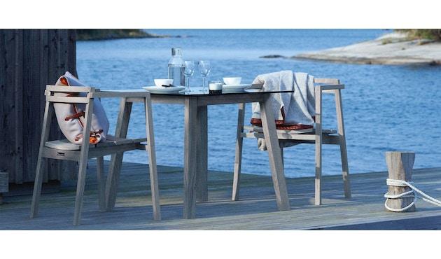 Skargaarden - Oxnö Tisch quadratisch - 4