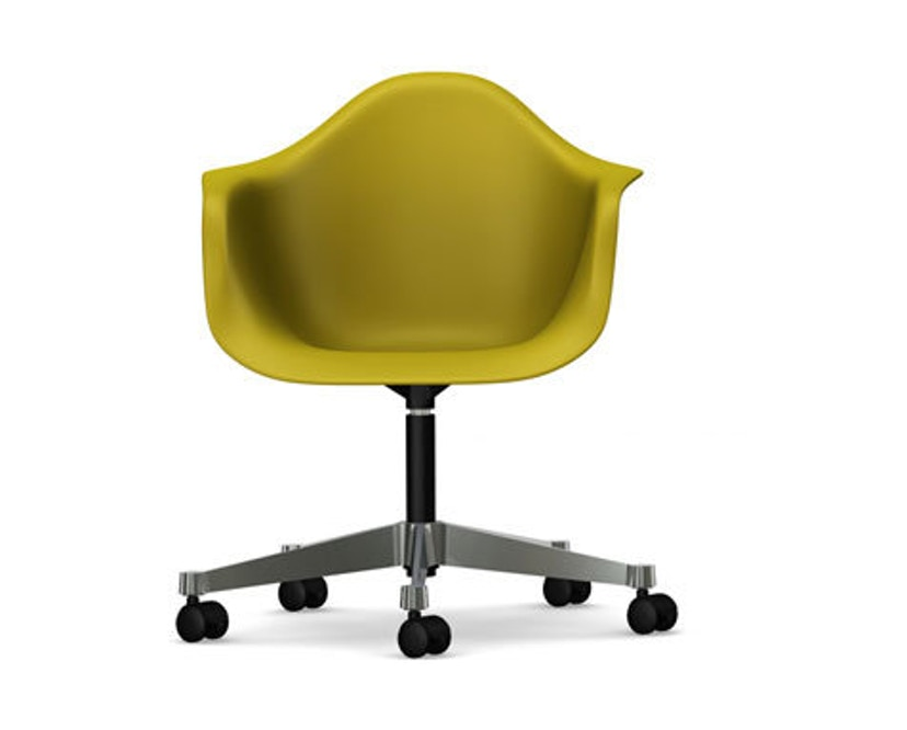 Vitra - Eames Plastic Armchair PACC - mosterd - 1