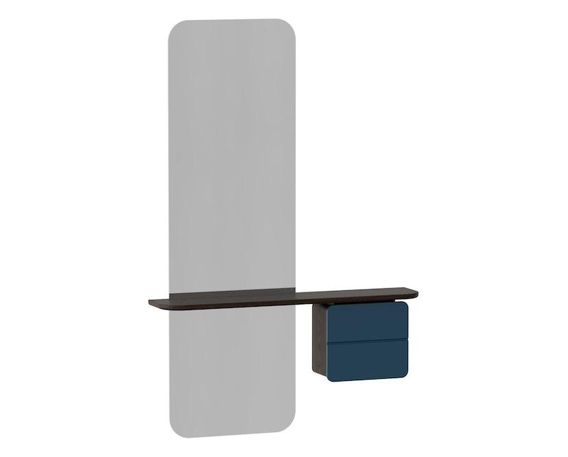 UMAGE - One More Look Spiegel - Eiche dunkel/petrolblau - 3