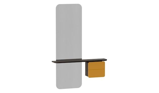 UMAGE - One More Look spiegel - Eiken donker - safraangeel - 3