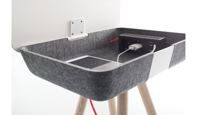 Conmoto - PAD Box  - weiß/grau - 3