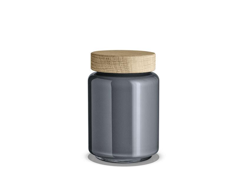 Holmegaard - Palet Aufbewahrungsglas - 0,7 l - dunkelgrau - 1