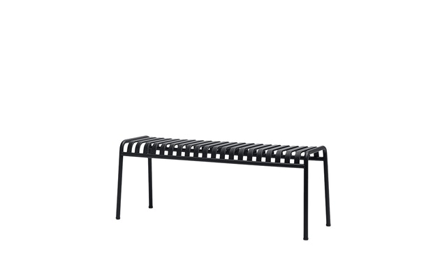 HAY - Palissade Bench - anthracite - 2
