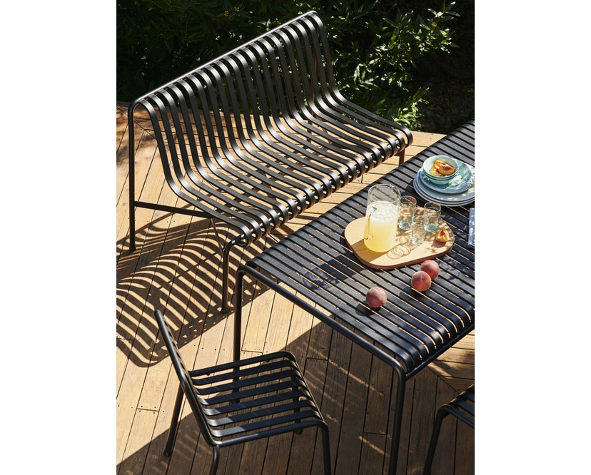 Palissade Dining Bench ohne Armlehne
