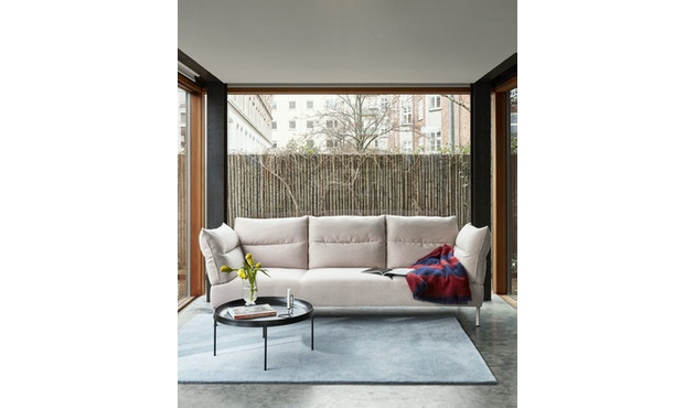 Pandarine 3 Sitzer Sofa flache Armlehnen