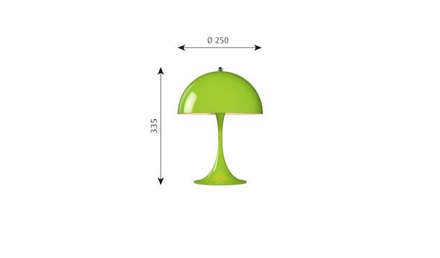 Louis Poulsen - Panthella Mini Tischleuchte Version 2 - gelb/grün - 2