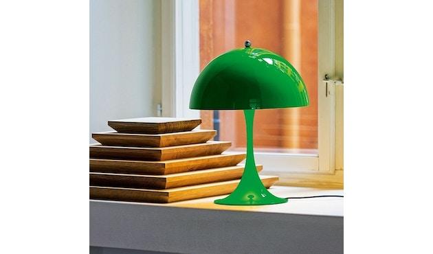 Louis Poulsen - Panthella Mini Tischleuchte Version 2 - gelb/grün - 5