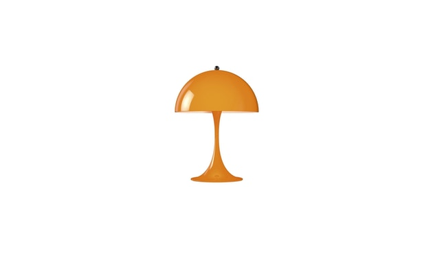 Louis Poulsen - Lampe de table Panthella Mini Version 2 - orange - 1