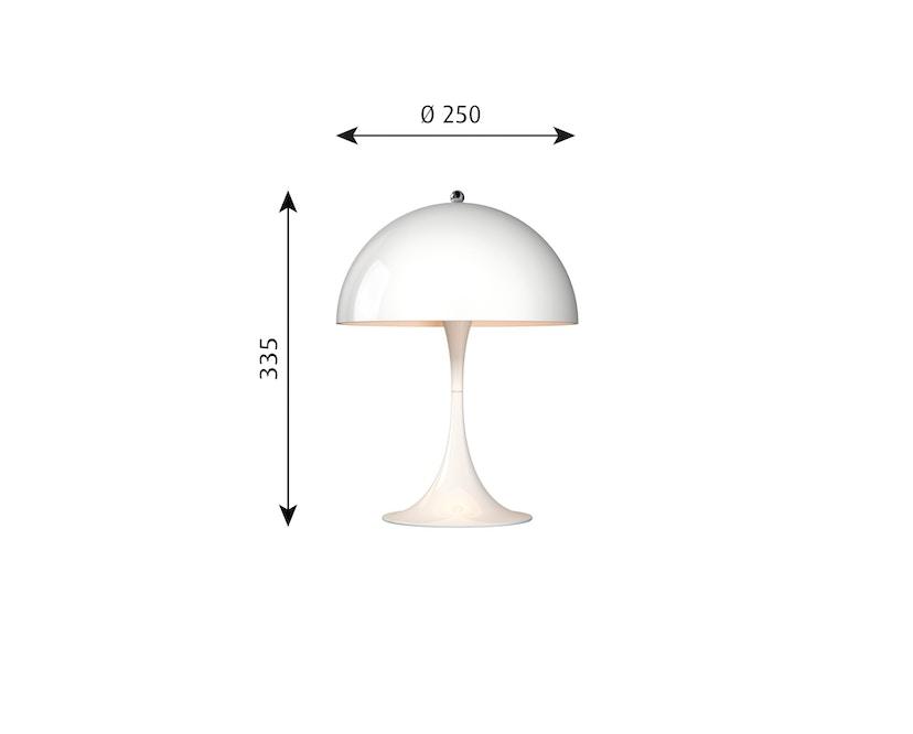 Louis Poulsen - Lampe de table Panthella Mini Version 2 - blanc - 4