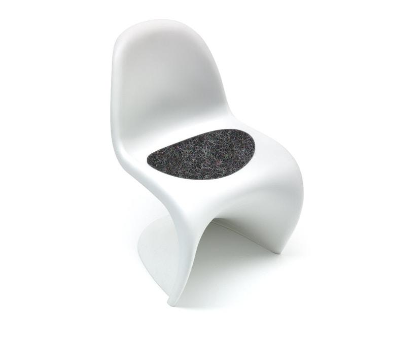 Hey-Sign - Sitzauflage Panton Chair - 08 graphit mit Antirutsch - 1
