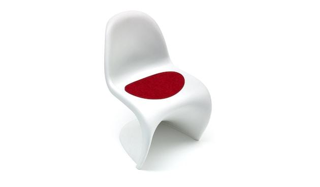 Hey-Sign - Sitzauflage Panton Chair - 11 rot mit Antirutsch - 1