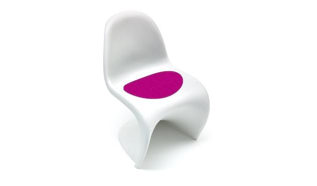 Hey-Sign - Sitzauflage Panton Chair - 32 pink mit Antirutsch - 1