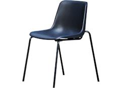 Papagallo stoel- zwart