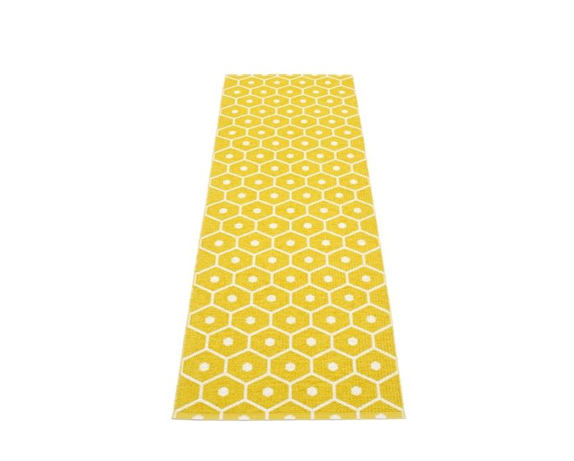 Pappelina - Honey Teppich - senfgelb - 70 x 225 cm - 1