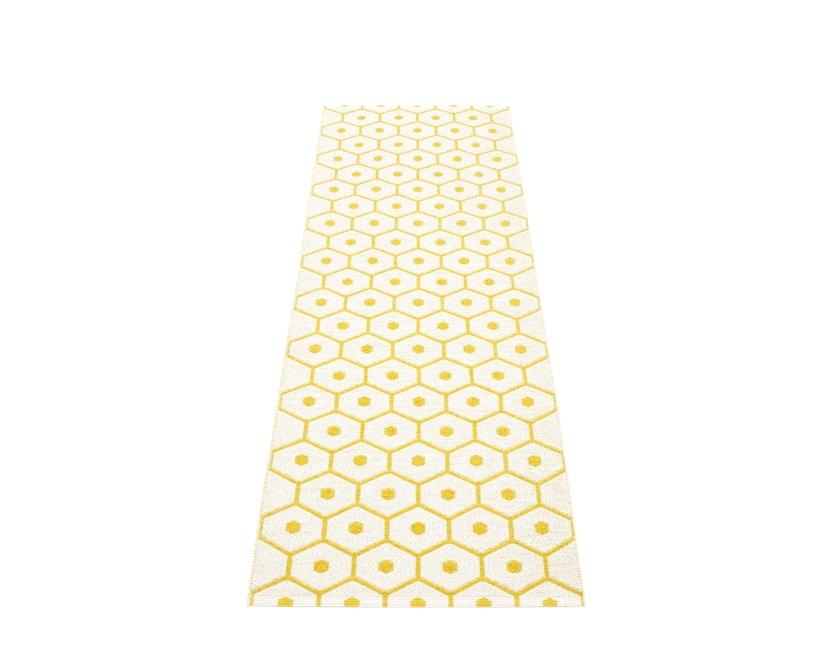 Pappelina - Honey Teppich - senfgelb - 70 x 225 cm - 2