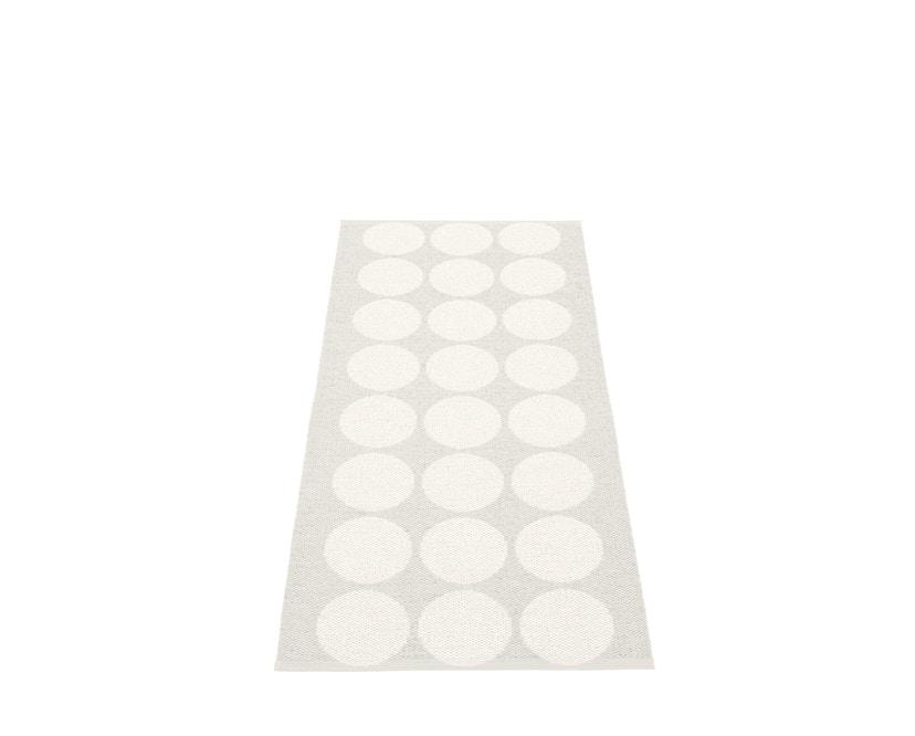 Pappelina - Hugo Wendeteppich - weiß metallic - 70 x 160 cm - 1