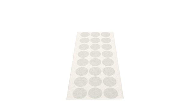 Pappelina - Hugo Draaivloerkleed - 70 x 160 cm - wit metallic - 2